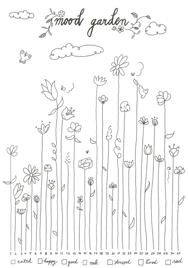 Free Garden Mood Tracker Download